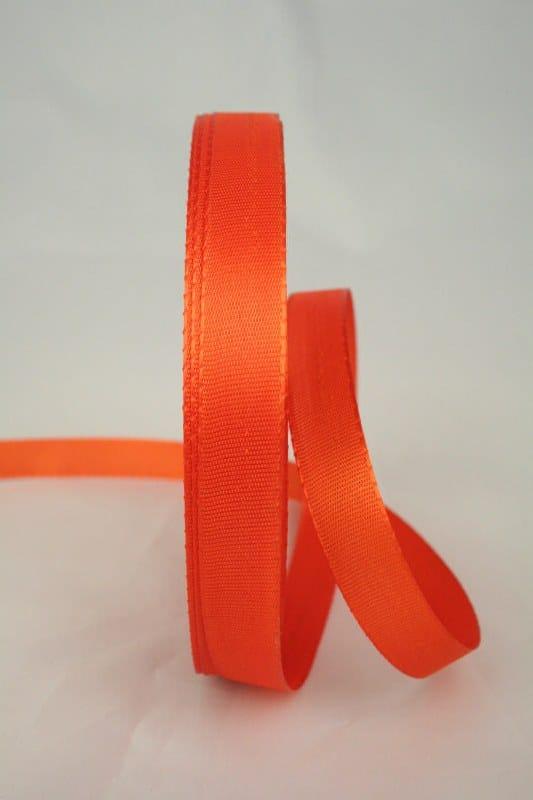 Taftband, orange, 15 mm breit - taftband, sonderangebot