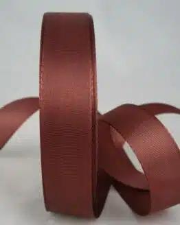 Taftband, braun, 25 mm breit - taftband
