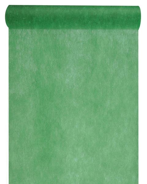 Vlies-Tischläufer BUDGET dunkelgrün, 30 cm - vlies-tischlaeufer