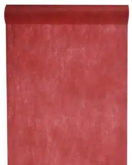 Vlies-Tischläufer BUDGET bordeaux, 30 cm - vlies-tischlaeufer