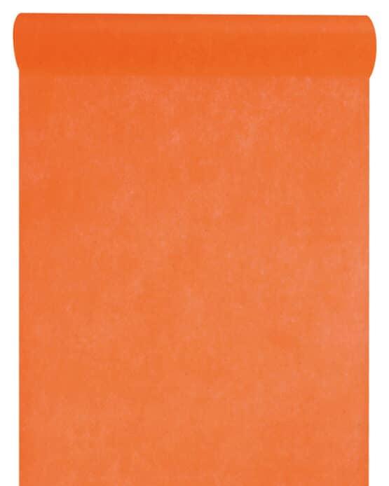 Vlies-Tischläufer BUDGET orange, 30 cm - vlies-tischlaeufer