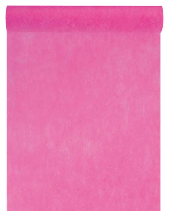 Vlies-Tischläufer BUDGET pink, 30 cm - vlies-tischlaeufer