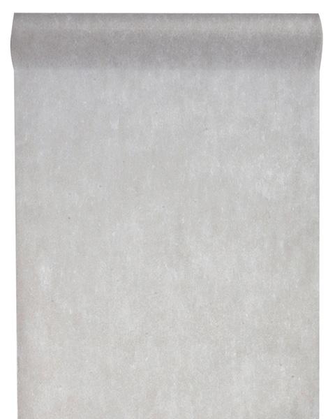 Vlies-Tischläufer BUDGET grau, 30 cm - vlies-tischlaeufer