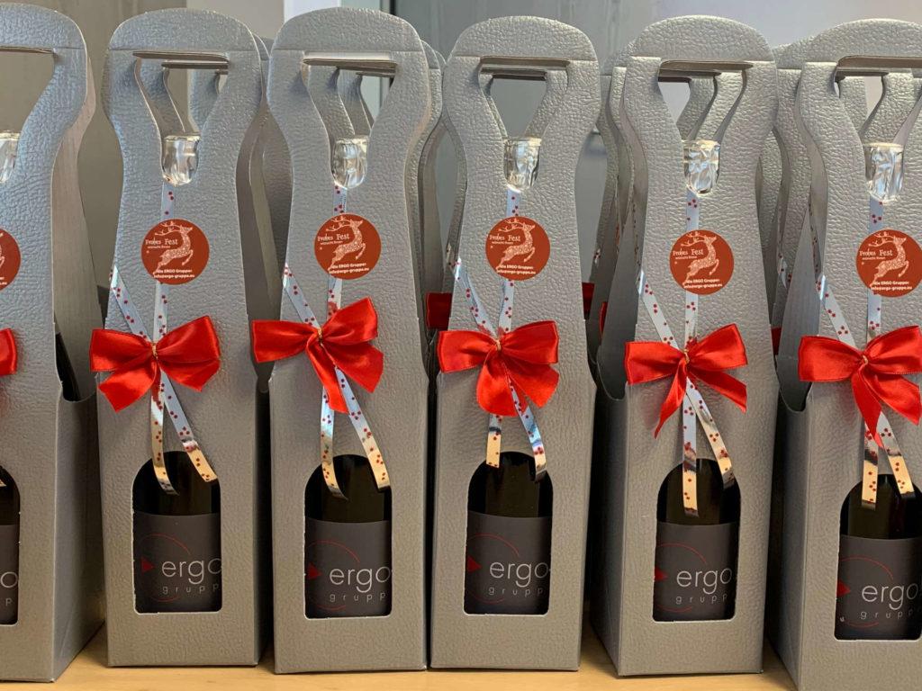 Genusspräsente richtig als Präsent verpacken - weinhandel, weihnachtsgeschenke, geschenkverpackungen