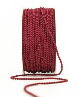 Kordel, rot, 2 mm stark - kordeln, andere-baender