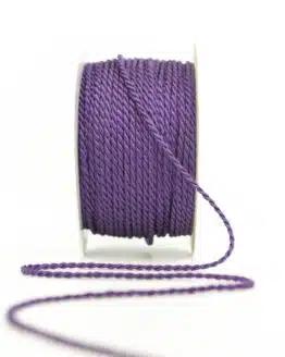 Kordel, lila, 2 mm stark - kordeln, andere-baender