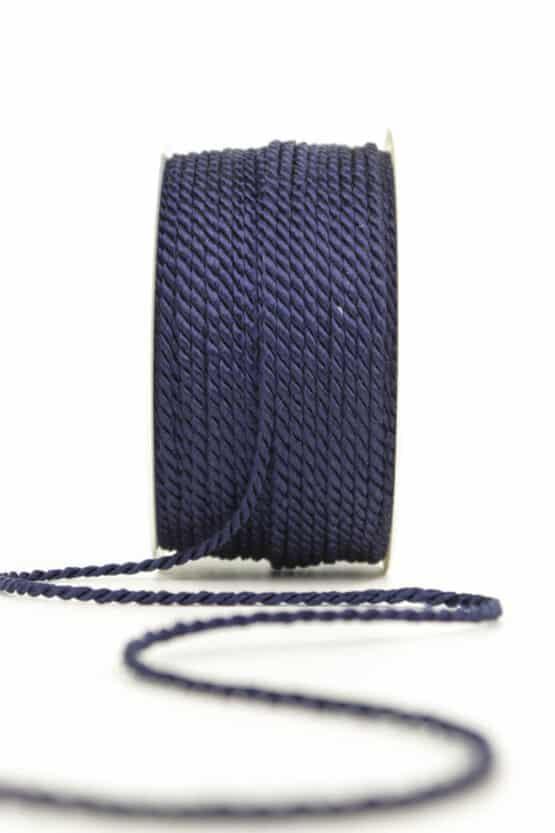 Kordel, marineblau, 2 mm stark - kordeln, andere-baender