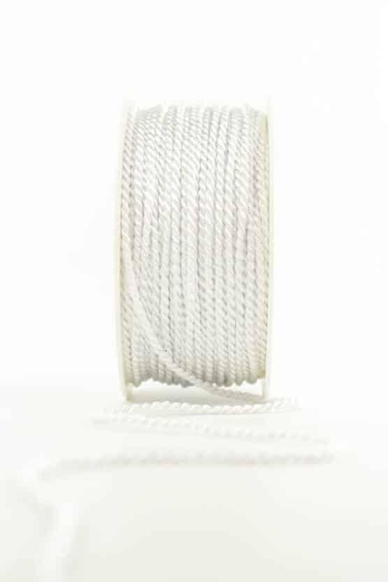 Kordel, weiß, 2 mm stark - kordeln, andere-baender