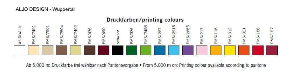 Druckfarben im Siebdruck -